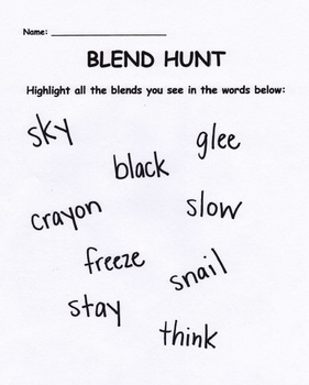 Blends Hunts