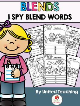 Blends: I Spy Blend Words Bundle