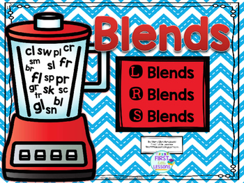 Blends: Initial Blends (L, R and S Blends)