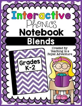 Phonics Interactive Notebook: Blends