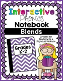Phonics Interactive Notebook: Blends