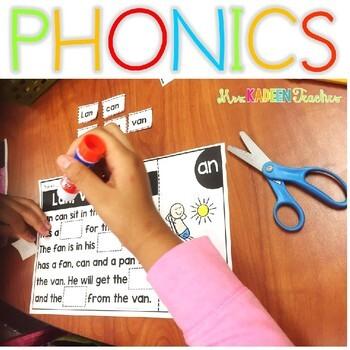 Blends Interactive Phonics Mats