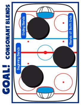 Blends - It's A Goal! Consonant Blends Sort