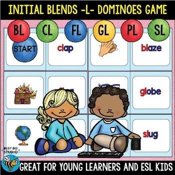 L Blends Game bl, cl, fl, gl, pl, sl