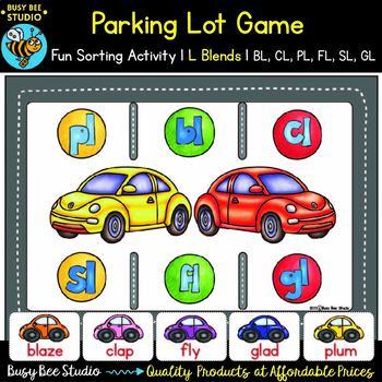 L Blends Game: Parking Lot