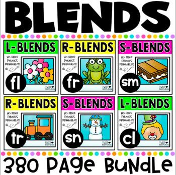 Blends No Prep Printables MEGA Bundle