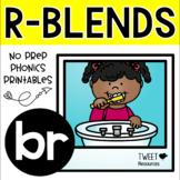 "Blends Phonics NO PREP Printables for ""br"""