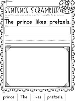 """Blends Phonics NO PREP Printables for """"pr"""""""