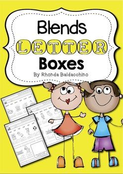 Blends Letter Boxes