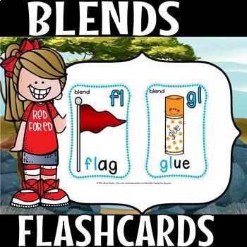 Blends MEGA FLASHCARDS