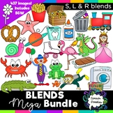 Blends Clipart Mega Bundle: S blends, R blends, and L blends  - 437 images!