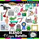 Blends Clipart Mega Bundle: S blends, R blends, and L blends  - 437 images!