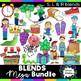 Blends Clipart Mega Bundle: S blends, R blends, and L blen