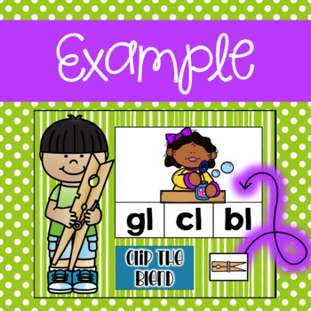 Blends Clip Activity using Google Slides and Classroom