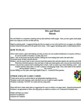 Blends - Mix and Match