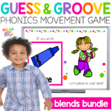 Blends Movement Game BUNDLE for Google (TM) and PowerPoint