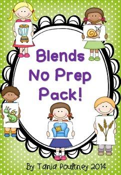 Blends  No Prep Pack