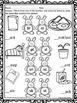 Blends: Worksheets (Spring Bunnies)