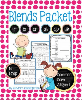 Blends Packet (BR, CR, TR, SP, SK, and ST Blends)