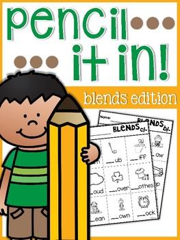 Blends Pencil it in