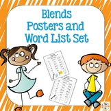 Blends Phonics Posters and Word Lists