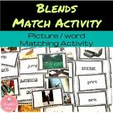 Blends Picture Match Activity
