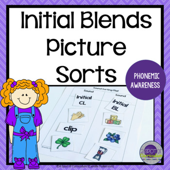 Initial Blends Picture Sorts