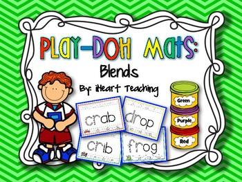Blends Play-Doh Mats