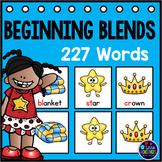 Beginning Blends Activities | Phonics Centers 1st Grade Pocket Charts