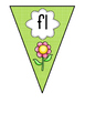 Blends & Digraphs Poster Flag Bunting Display Phonics