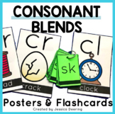 Consonant Blends | Posters and Flashcards