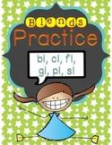 Blends Practice - L