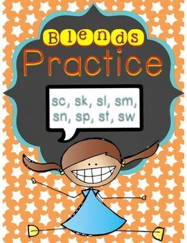 Blends Practice - S