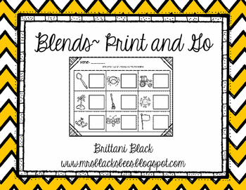 Blends~ Print and Go
