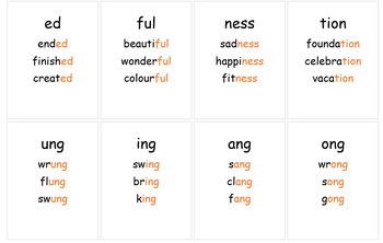 Blends Printable Word Wall