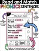 Blends: Read & Match Sentences with Blends