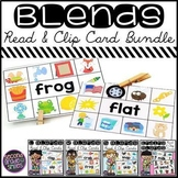 Blends Read and Clip Cards