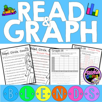 Blends Read and Graph Activities