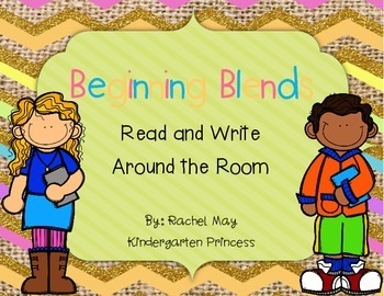 Blends Read and Write Around the Room