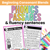 Blends Reading Passages & Fluency Sentences