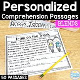 Blends Reading Passages: PERSONALIZED Comprehension with C