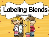 Blends Reading and Labeling