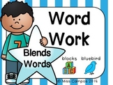 Blends Review (CCVC and CVCC) Words Cut and Paste