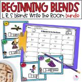 Blends S Blends, L Blends, R Blends Write the Room BUNDLE