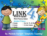 "Blends & Digraphs ""Four in a Row"" Game Link 4  8 games in one"