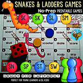 S Blends Game: Snakes and Ladders (sc,sk, sn,sp, sl, sm, st, sw)