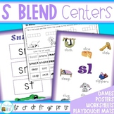 S Blends Worksheets and Activities