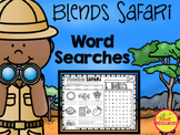 Blends Safari! Phonics Word Search Puzzles