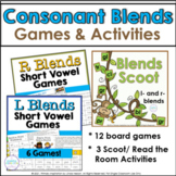 Blends Scoot Games for L- Blends and R- Blends