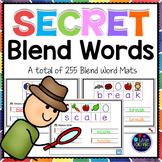 Beginning Blends Activities Bundle | Secret Words L, R, S Blends